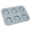 <strong>Fox Run Craftsmen</strong> Non-Stick 6 Cup Large Muffin Pan