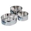 Fox Run Craftsmen 3-Piece Mini Springform Pan Set