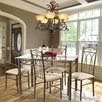<strong>Hazelwood Home</strong> 5 Piece Dinette Set