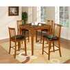 <strong>Hazelwood Home</strong> Counter Height 5 Piece Dining set