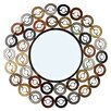 <strong>Round Wall Mirror</strong> by Hazelwood Home