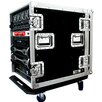 Road Ready Cases Deluxe Amplifier Rack System Case with Caster Board