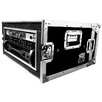Road Ready Cases Deluxe Amplifier Rack System Case Shock Mount