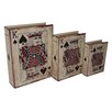<strong>3 Piece Vinyl King of Spades Book Box Set</strong> by Cheungs