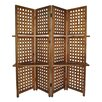 """Cheungs 70.25"""" x 70.25"""" 4 Panel Room Divider"""