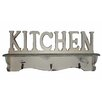 Cheungs Kitchen Cutout Hanging Wall Shelf