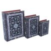 <strong>3 Piece Rug Print Book Box Set</strong> by Cheungs
