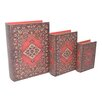 Cheungs 3 Piece Rug Print Book Box Set
