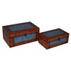 <strong>2 Piece Egyptian Key Treasure Box Set</strong> by Cheungs