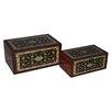 Cheungs 2 Piece Carpet Treasure Box Set