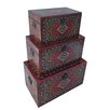 Cheungs 3 Piece Carpet Treasure Box Set