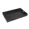 Cheungs Fan Print Rectangle Tray with Side Handles