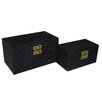 Cheungs 2 Piece Raised Bubble Box Set with Double Happiness Accent