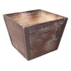 Cheungs Square Wooden Planter