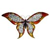"51.5"" Wide Butterfly Wall Art in Multicolor"