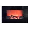 <strong>Aspen Flame Wall Mount Electric Fireplace</strong> by Proman Products