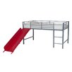 DHP Fantasy Junior Twin Loft Bed with Slide