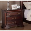 <strong>Greystone</strong> Ramsey 3 Drawer Nightstand