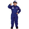 Aeromax Flight Suit with Embroidered Cap Costume