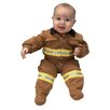 Aeromax Jr. Fire Fighter Suit for 6-12 Months Costume in Tan