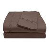 Veratex, Inc. 800 Thread Count Egyptian Cotton Sheet Set with Chenille Swirl