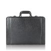 <strong>Leather Laptop Attache Case</strong> by Solo Cases