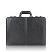<strong>Classic Leather Laptop Attache Case</strong> by Solo Cases