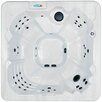 QCA Spas 7-Person 60-Jet Havana Bay Non-Lounger Spa