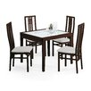 Domitalia Poker-120 Dining Table with Scala Chairs