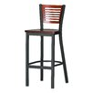 "Melissa Anne Custom Back Barstool (24"" - 36"" Seats)"
