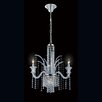 <strong>Nava 7 Light Crystal Chandelier</strong> by Eurofase