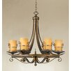 <strong>Rustico 6 Light Chandelier</strong> by Eurofase