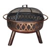 "23"" Steel Accent Fire Pit"