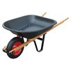 4 Cu. ft. Poly Tray Wheelbarrow