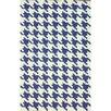 nuLOOM Trellis Regal Blue Houndstooth Rug