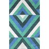 <strong>Cine Green Roxy Rug</strong> by nuLOOM