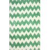 nuLOOM Block Island Green Borris Area Rug