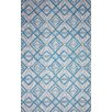 nuLOOM Novel Imture Light Blue Outdoor Area Rug