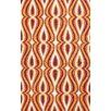 nuLOOM Uzbek Orange Luciano Rug