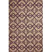nuLOOM Novel Purple Imture Indoor/Outdoor Area Rug