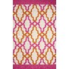 nuLOOM Novel Pink Franca Indoor / Outdoor Area Rug