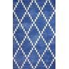 nuLOOM Remade Blue Vesmmor Rug