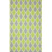 nuLOOM Remade Green Trina Rug