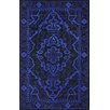 nuLOOM Europe Marcus Blue/Black Area Rug