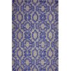 nuLOOM Europe Blue Casey Area Rug