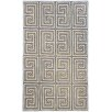 nuLOOM Greek Key Austin Machine Made Tan Outdoor Area Rug