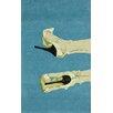 nuLOOM Catwalk Hand Tufted Sky Area Rug