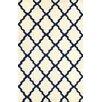 nuLOOM Marrakech Trellis Hand Hooked Blue Area Rug
