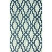 nuLOOM Viv Hand Hooked Cotton Plush Blue Area Rug