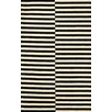 nuLOOM San Miguel Black Scully Rug